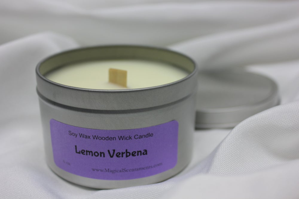 Image of Soy Wax Wood Wick Candle  - 6 oz