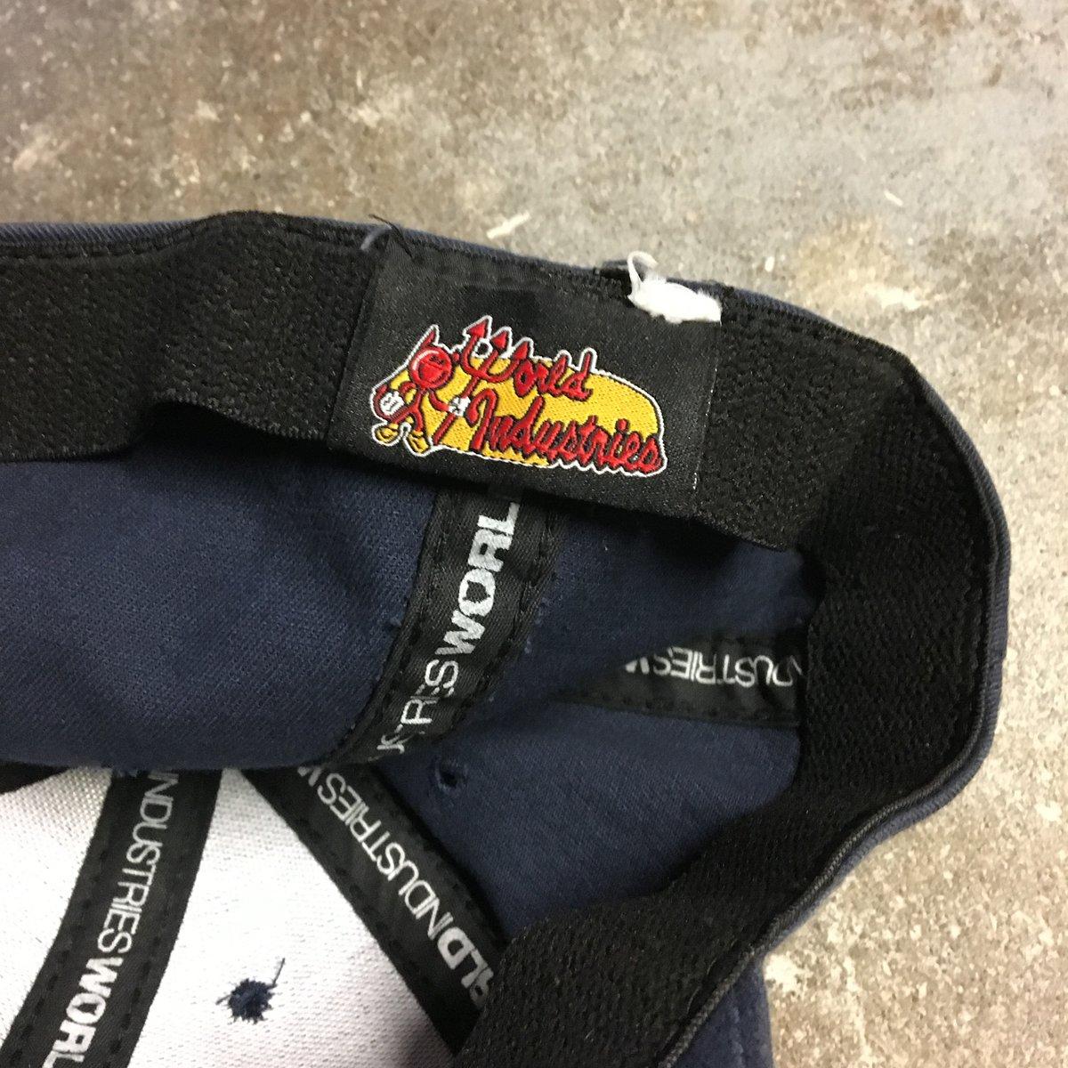 Image of Original 90's World Industries FlexFit Men's Hat.