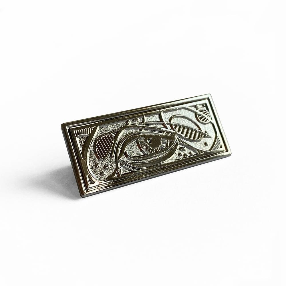Image of Gemini Enamel Pin
