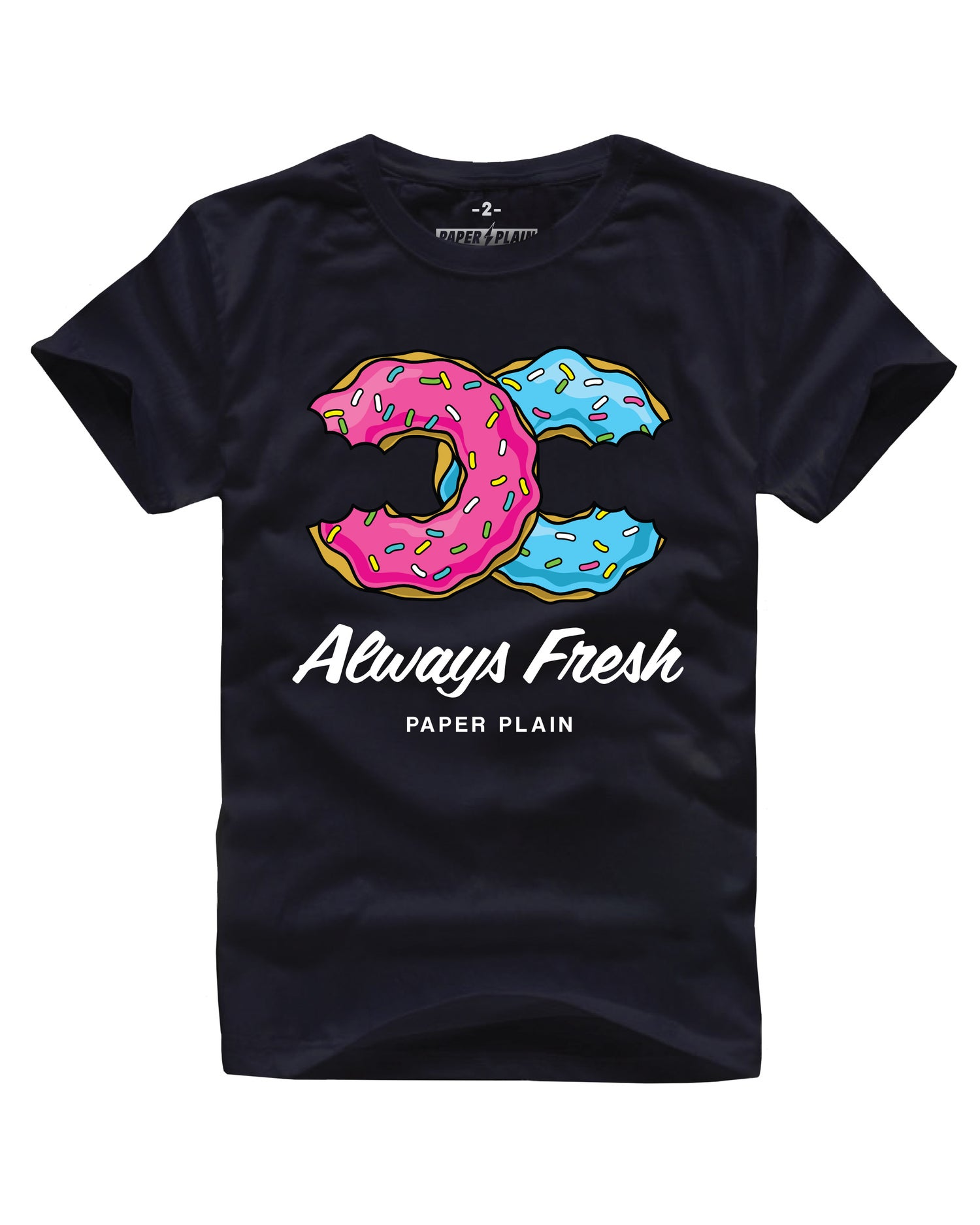 Image of ALWAYS FRESH TEE BLACK