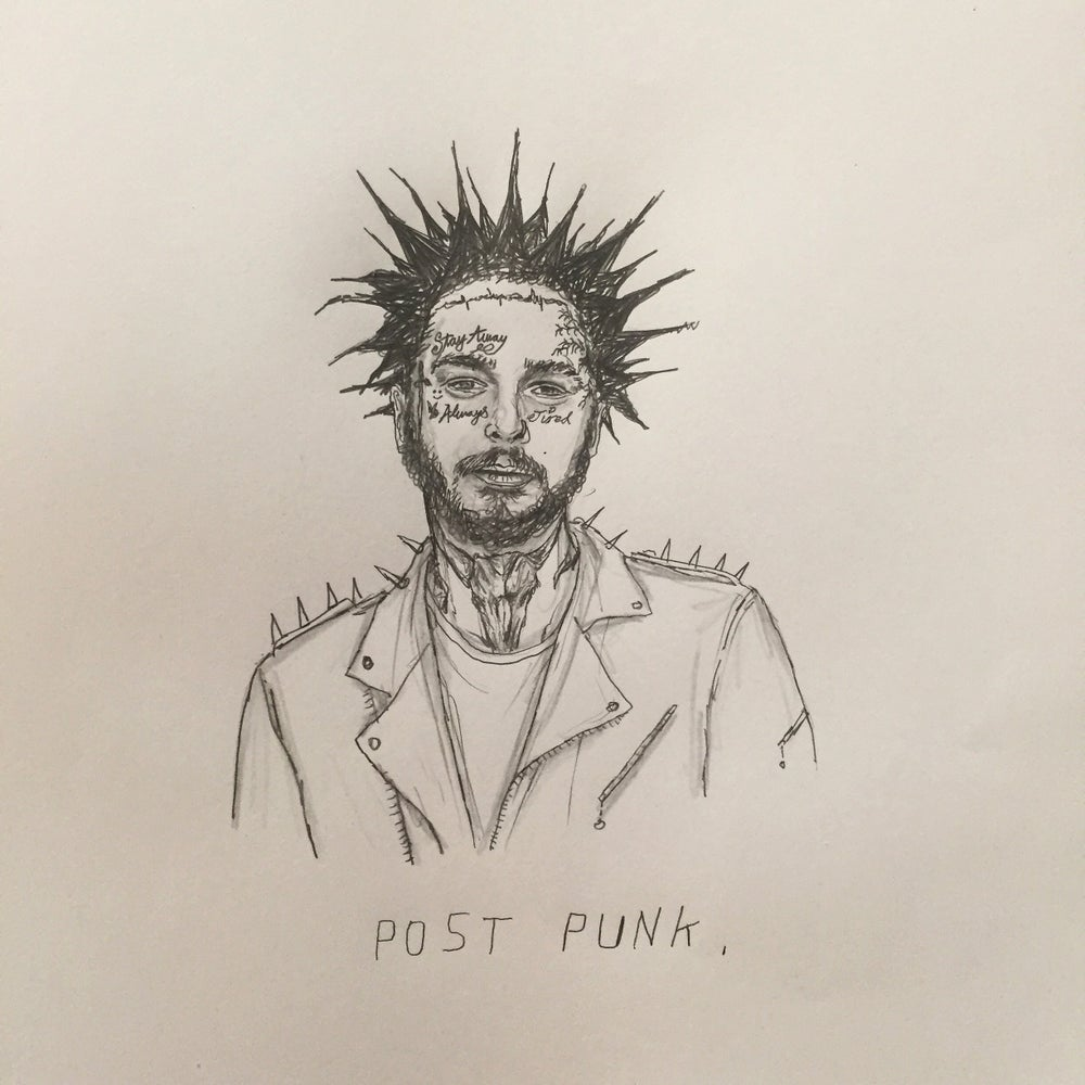 Image of post punk drawing