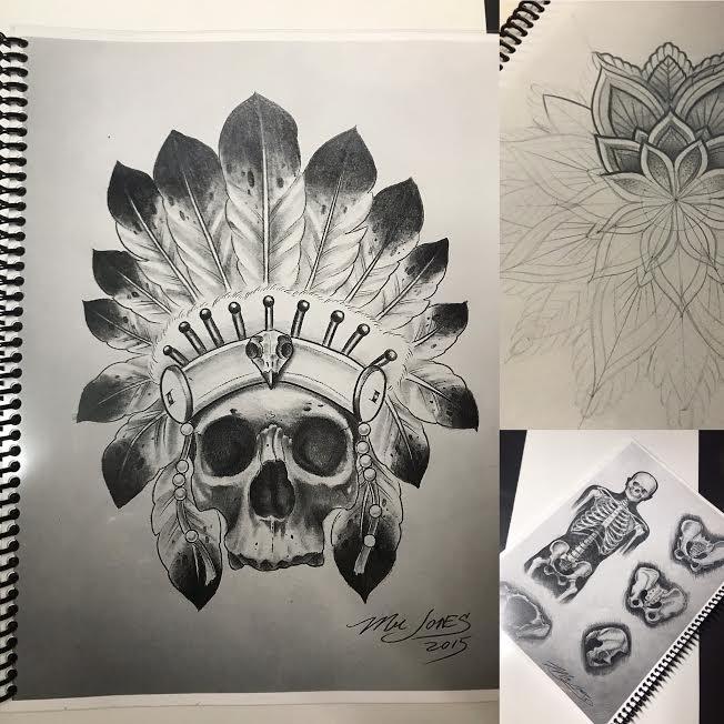 Image of Mr Jones Sketch Book