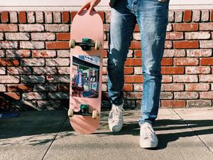 "Image of ""Reiko"" Pixel Art Skateboard"