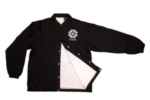 "Image of ""Roots & Culture"" Coach Jacket (Black)"