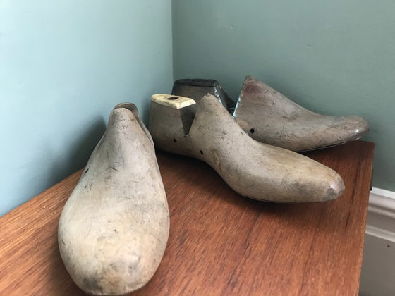 Image of Vintage Wooden Shoe Last