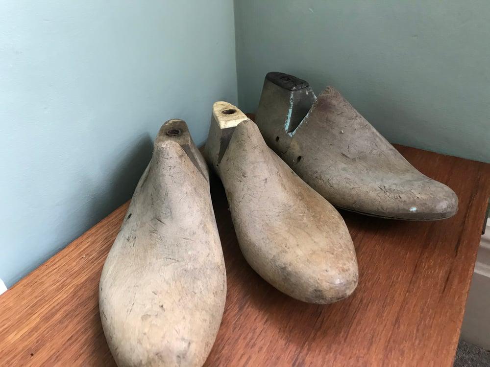 Image of Vintage Wooden Shoe Last