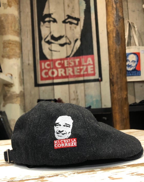 Image of Casquette en laine Chirac grise anthracite