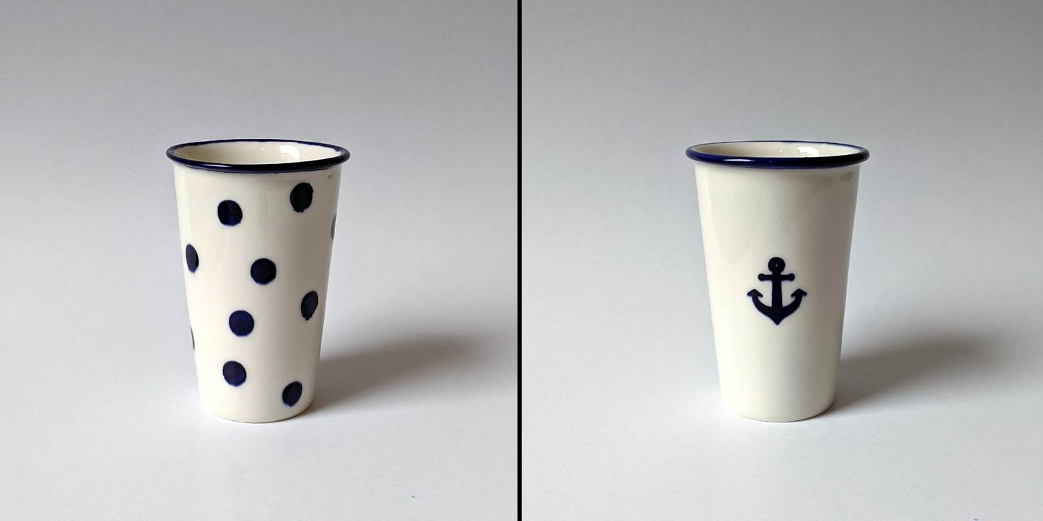 Image of PORCELAIN TUMBLERS