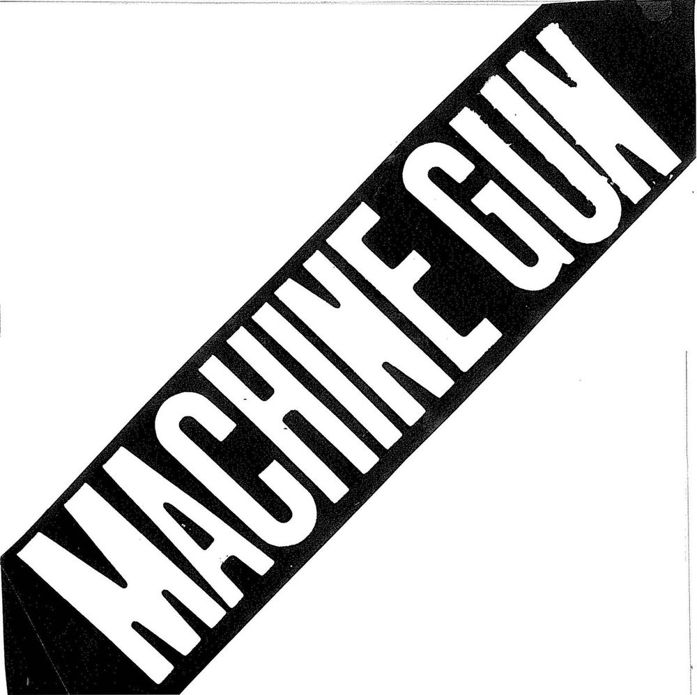 "Image of MACHINE GUN ""10 hardcore tracks"" 7"" E.P."