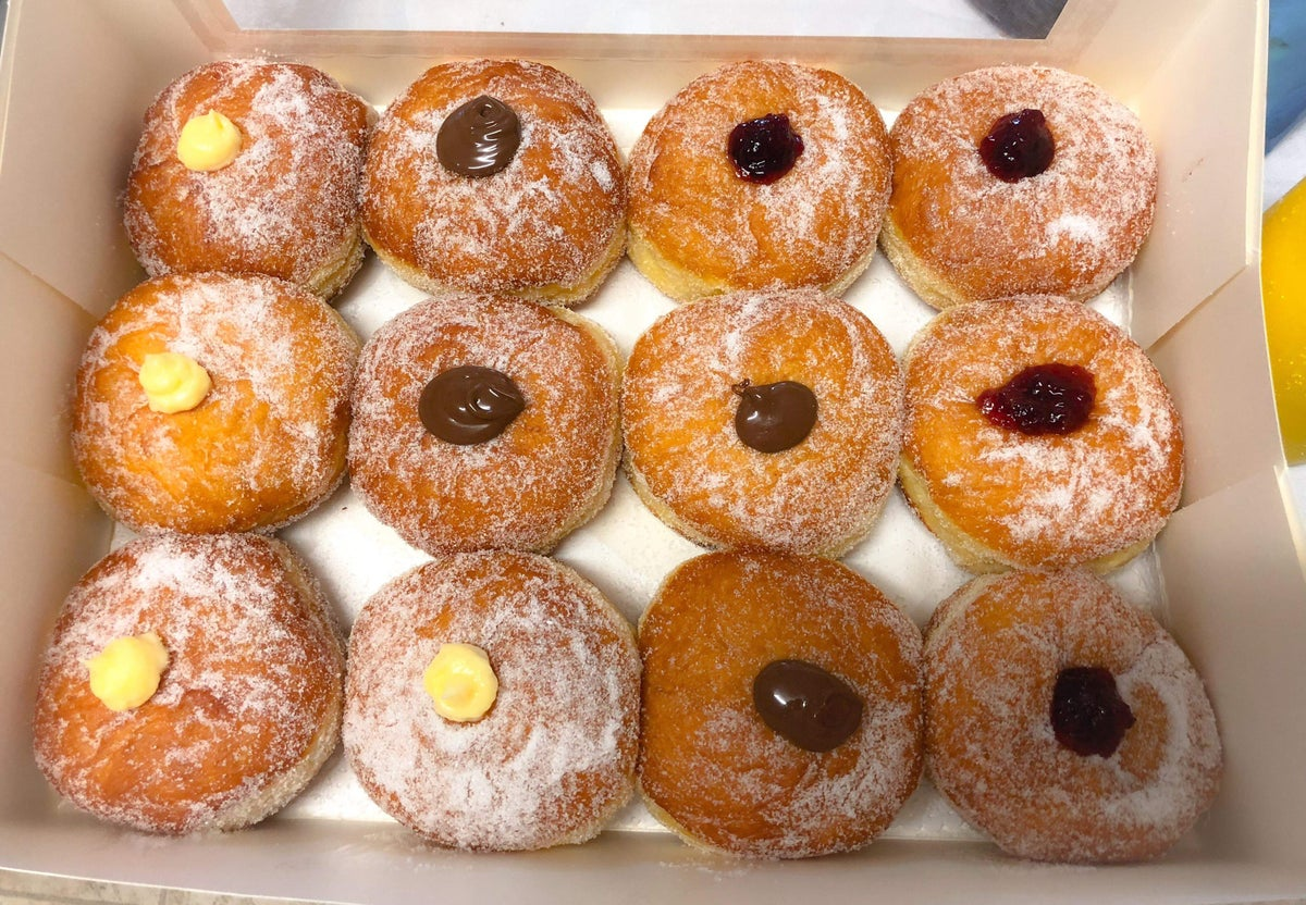 Image of Large Doughnuts