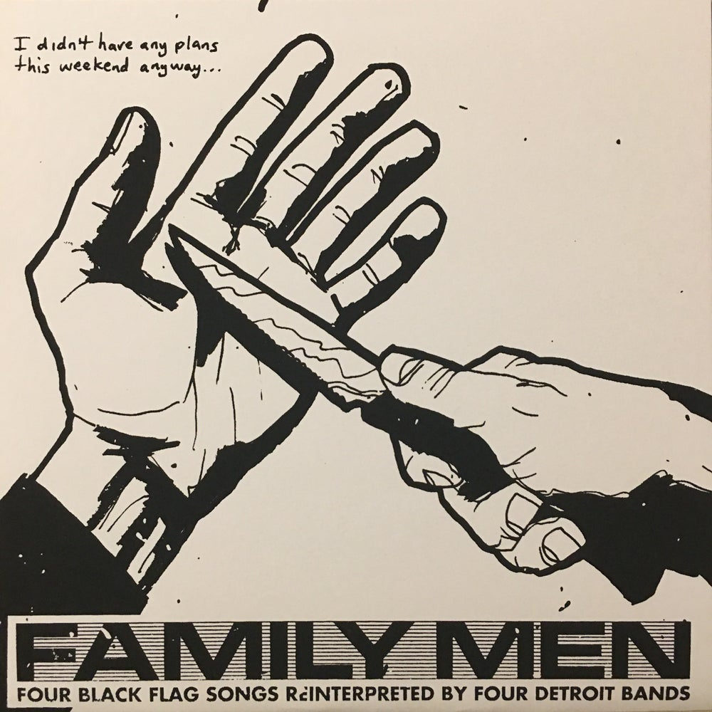Image of Family Men: Four Black Songs Reinterpreted By Four Detroit Bands