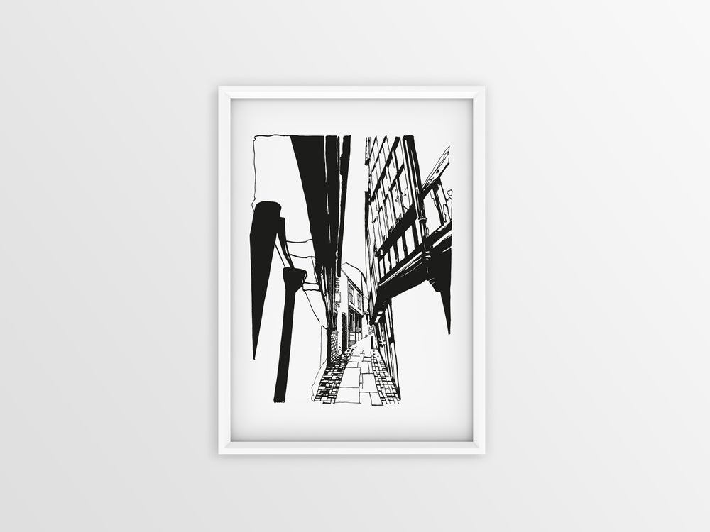Image of Grope Lane A3 print / LIMITED EDITION