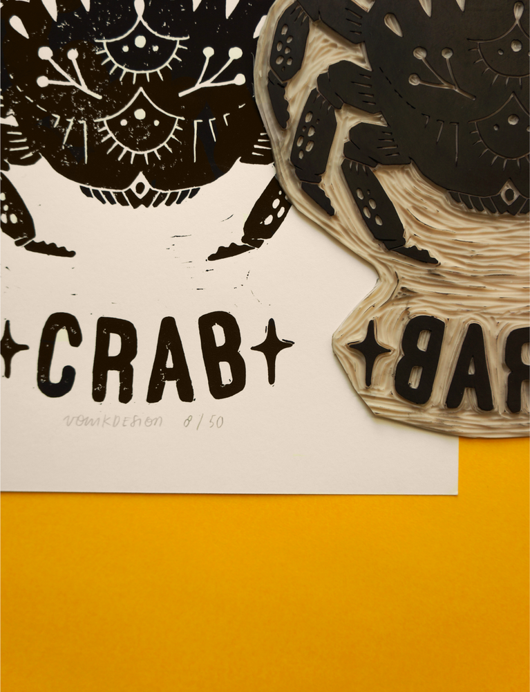 Image of Oh Crab! (A4)
