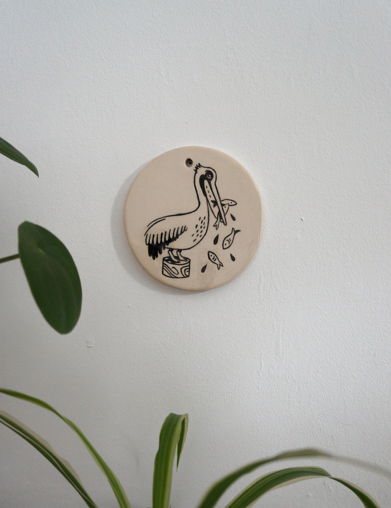 Image of Wall Hanging - Pelican (10cm)