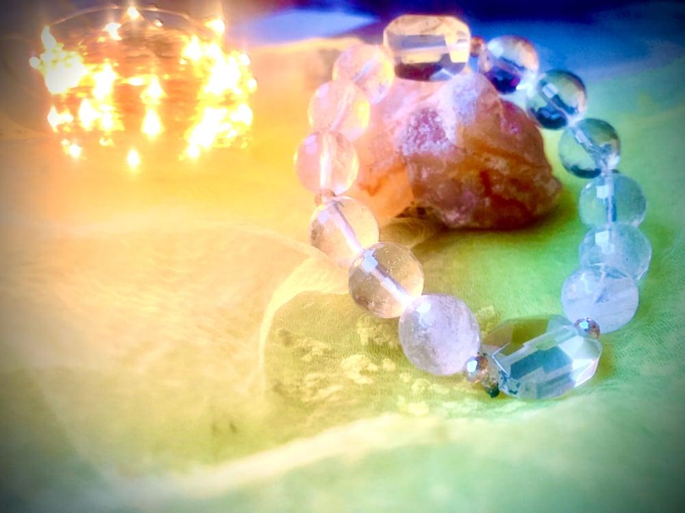 Image of Ombré Citrine faceted bracelet