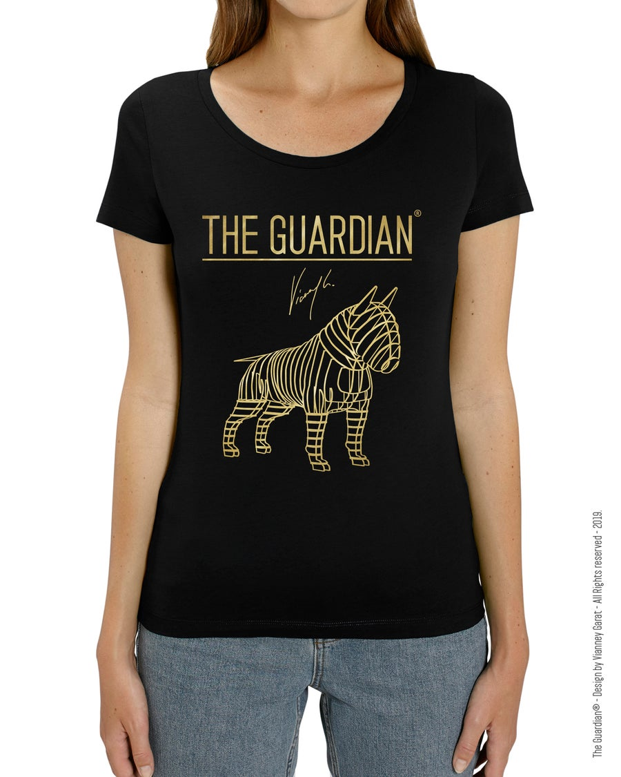 Image of T-SHIRT FEMME- THE GUARDIAN® - MONTANA EDITION - Extra Limited Edition
