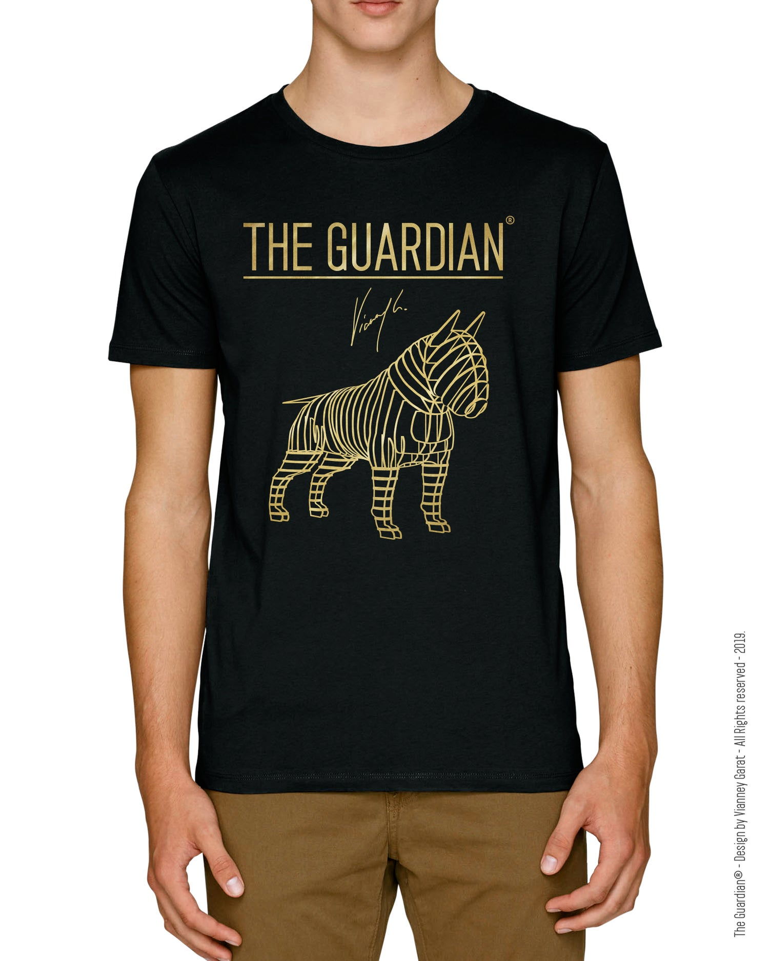 Image of T-SHIRT THE GUARDIAN® - MONTANA EDITION - Extra Limited Edition