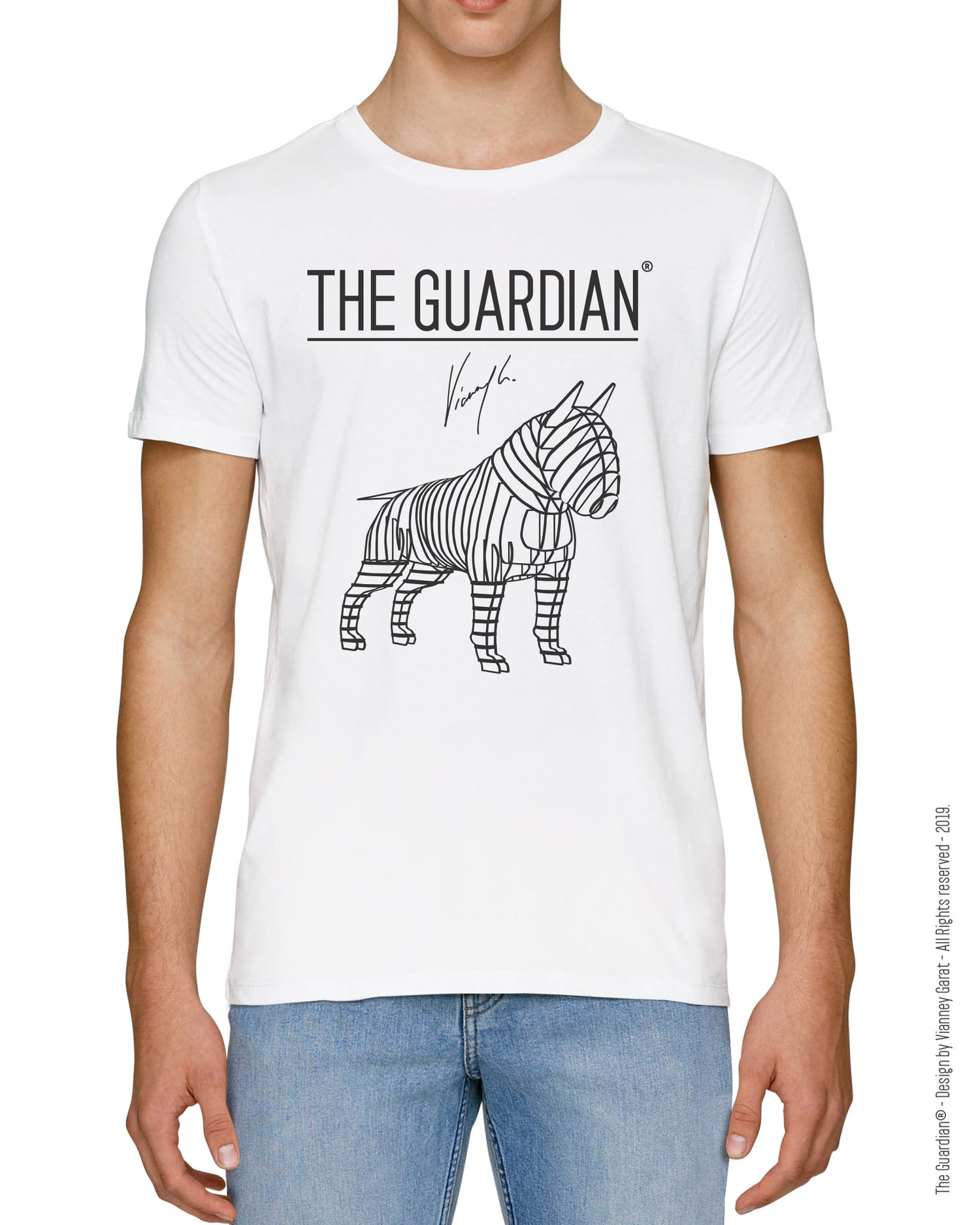 Image of T-SHIRT THE GUARDIAN® - ANGEL EDITION - Limited Edition