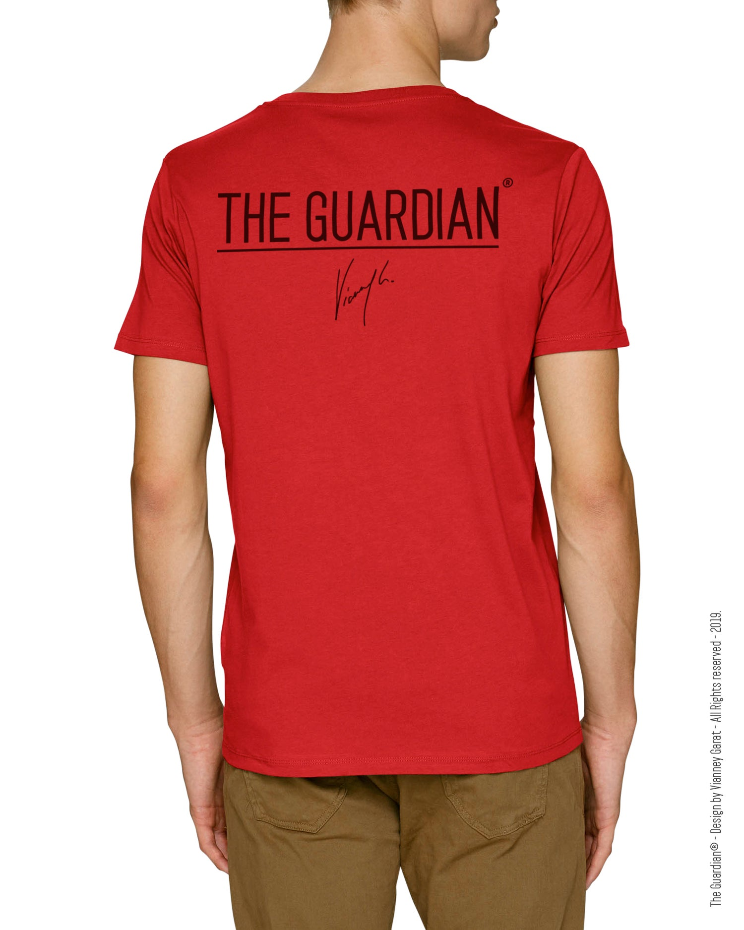 Image of T-SHIRT THE GUARDIAN® - FIRE EDITION - Limited Edition
