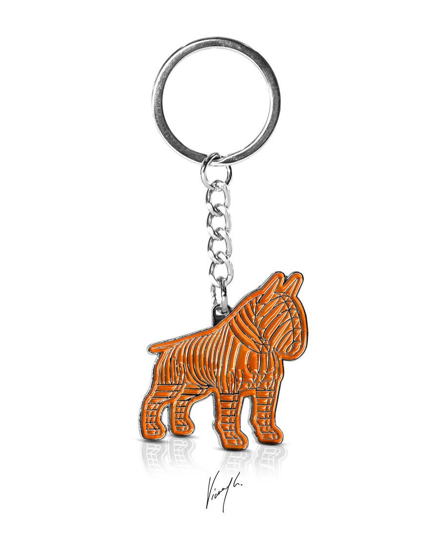 "Image of PORTE-CLÉS - THE GUARDIAN® ""BRIGHT ORANGE EDITION"" LIMITED EDITION"