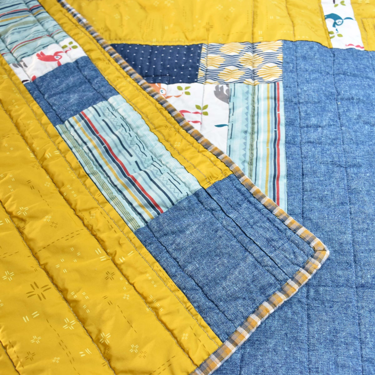 Image of Monkey Print Small Size Quilt