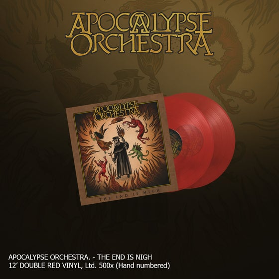 Image of Apocalypse Orchestra - The End is Nigh (Double Red Vinyl)