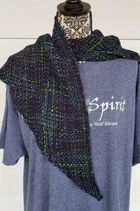 Image of Matrix, shawl, handwoven