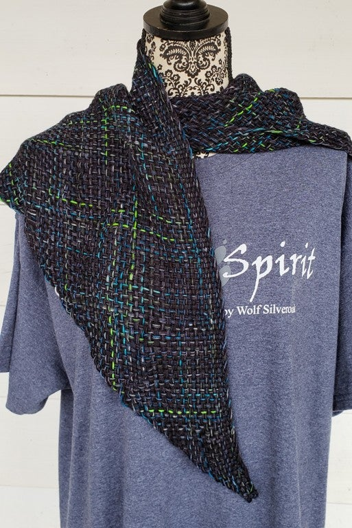 Image of Matrix, shawl, handwoven