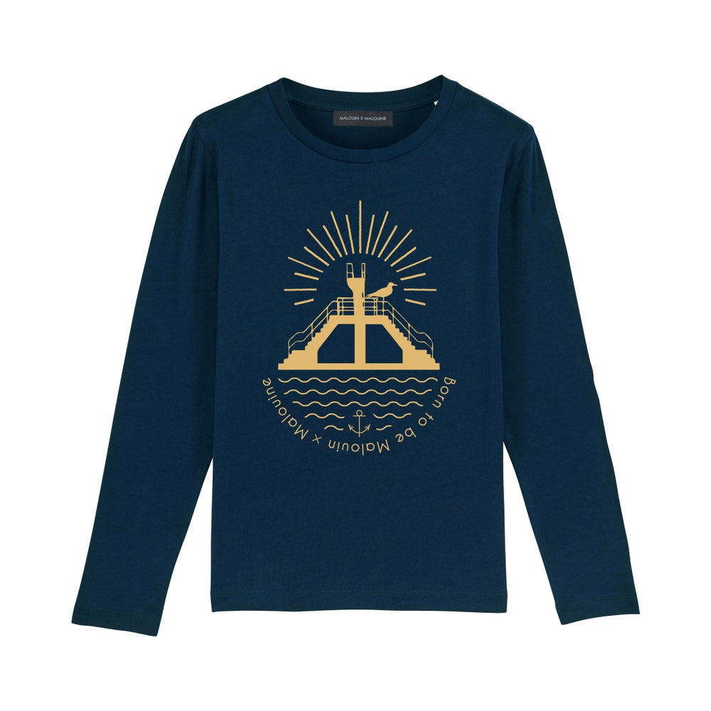Image of T-SHIRT NAVY PLONGEOIR KIDS