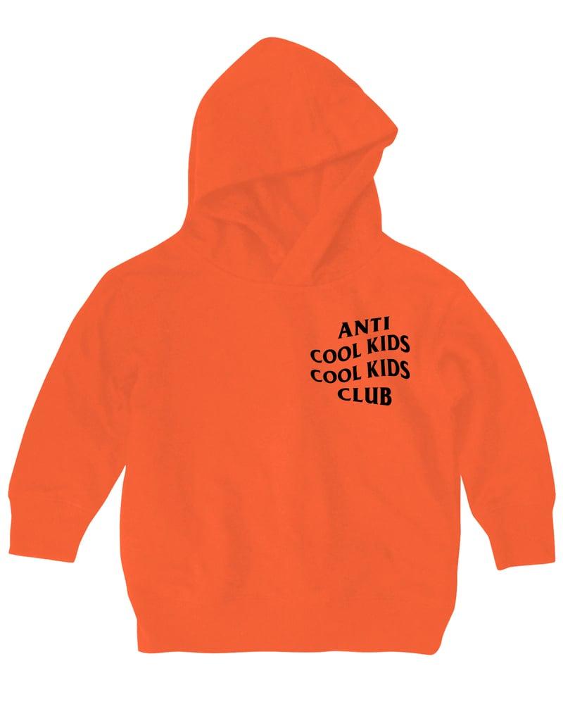 Image of ANTI COOL KIDS HOODY ORANGE