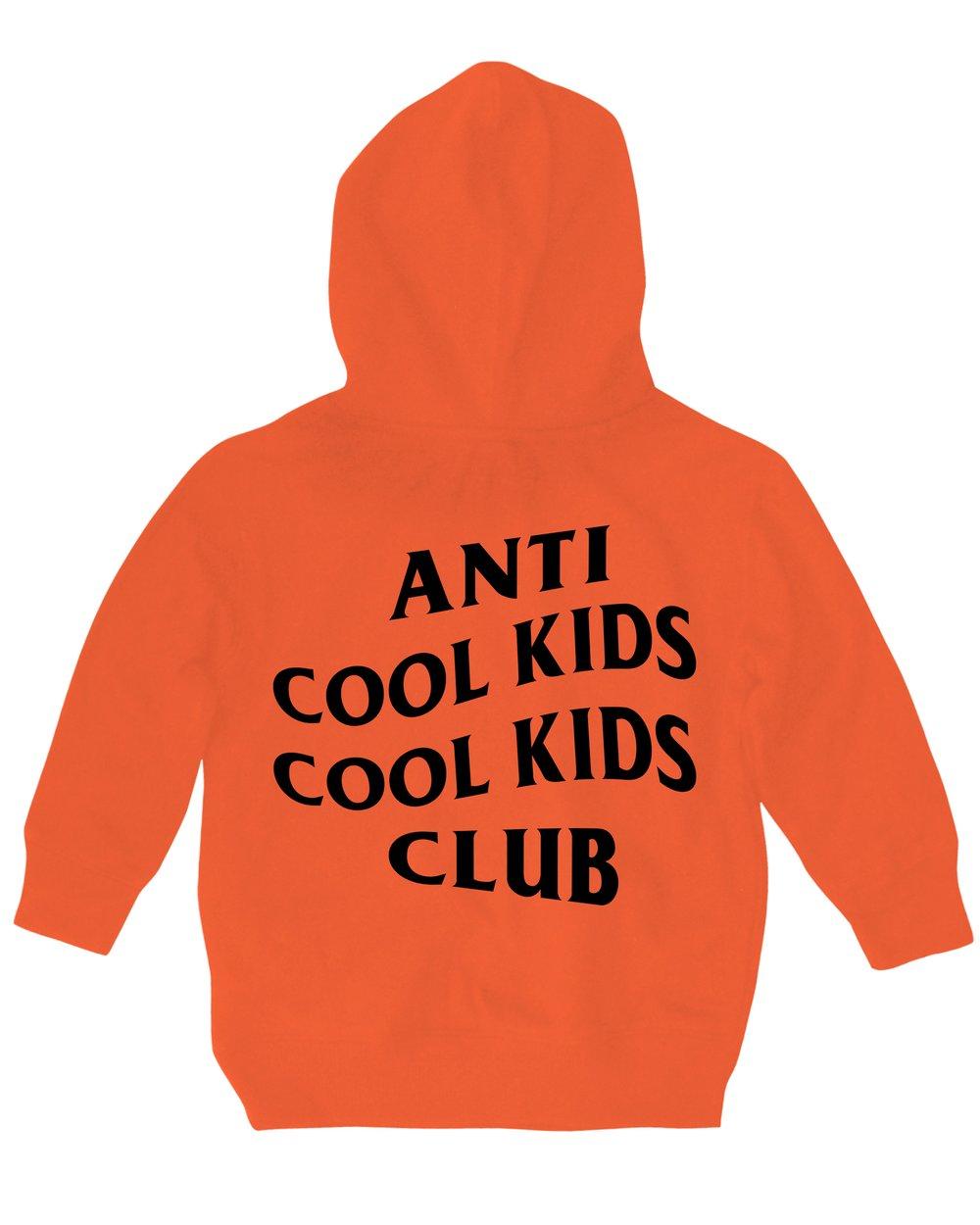 ANTI COOL KIDS HOODY ORANGE
