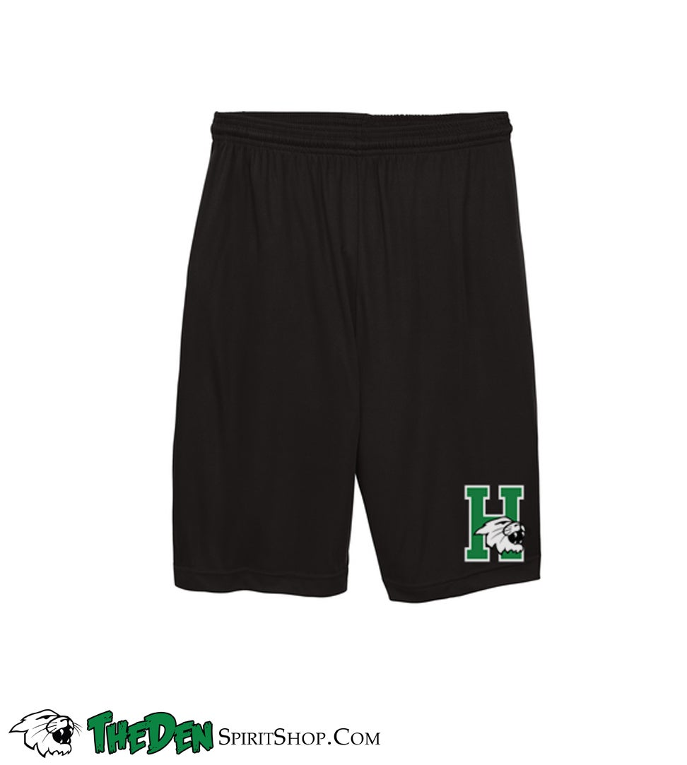 Image of YOUTH Performance Shorts, Black