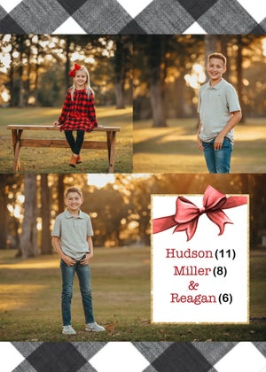 Image of Ingram Family Christmas Card Package