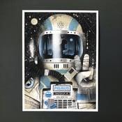 Image of Primus poster Blue Milwaukee WI. 08/06/15