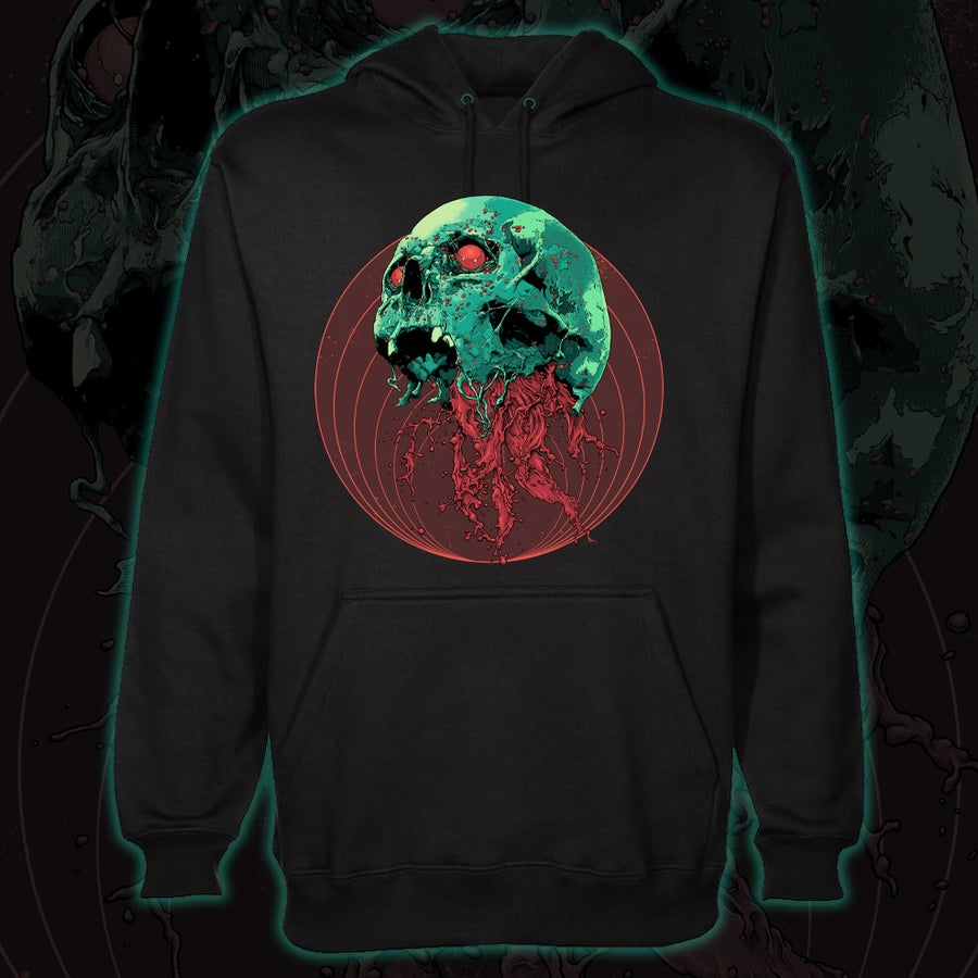 Image of Skull Full Of Blood Hoodie