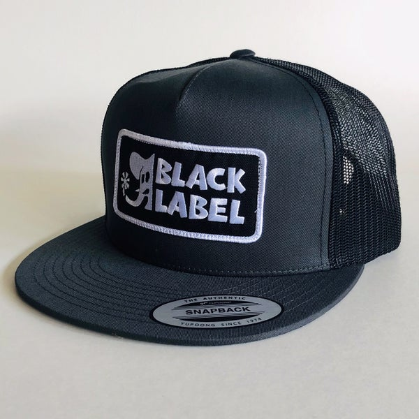 """Image of """"Elephant Sector"""" Patch Hat - Charcoal/Black"""