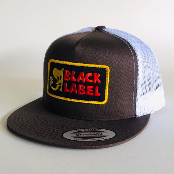 """Image of """"Elephant Sector"""" Patch Hat - Brown/White"""