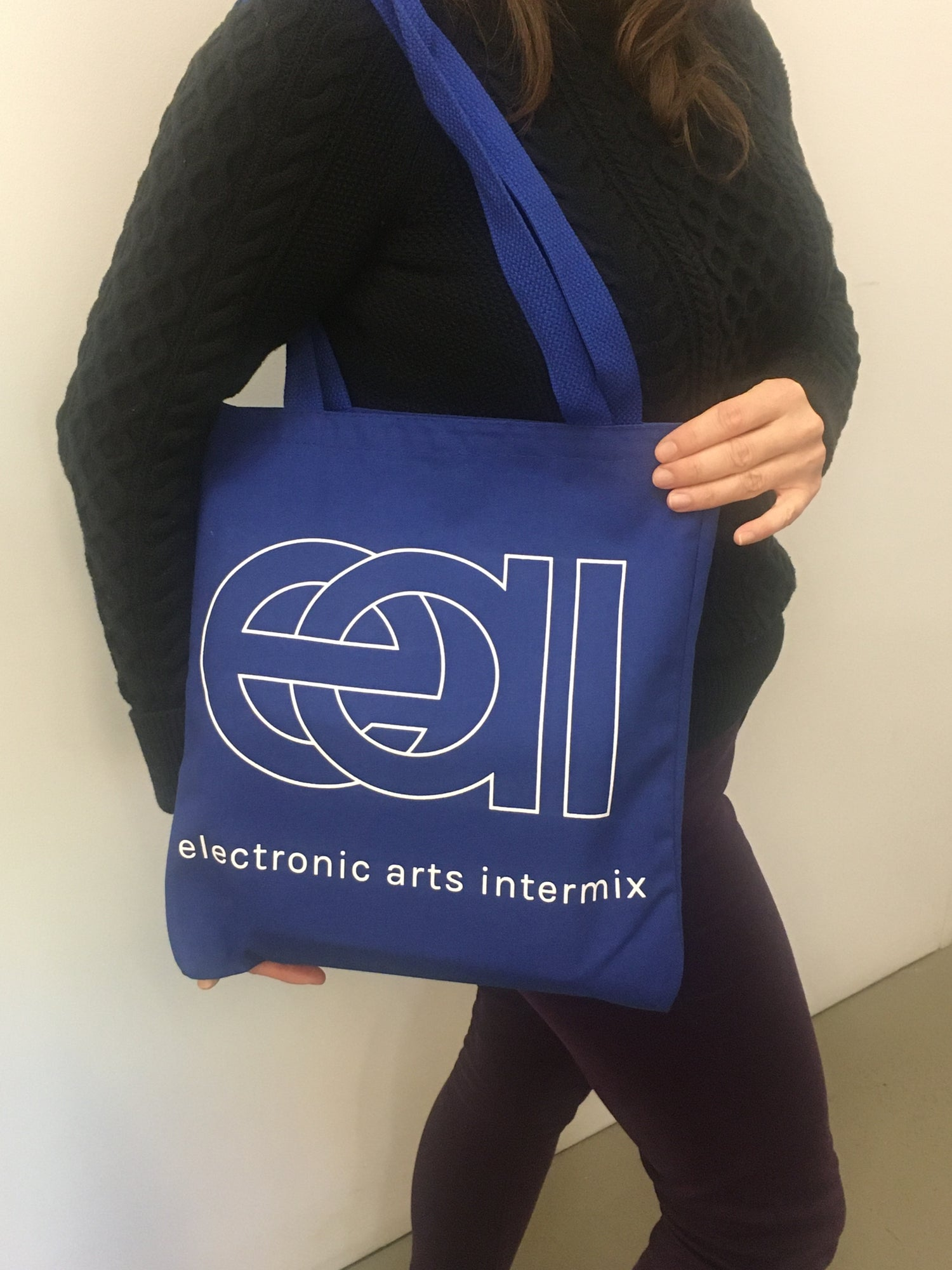 Image of Video Blue Tote Bag