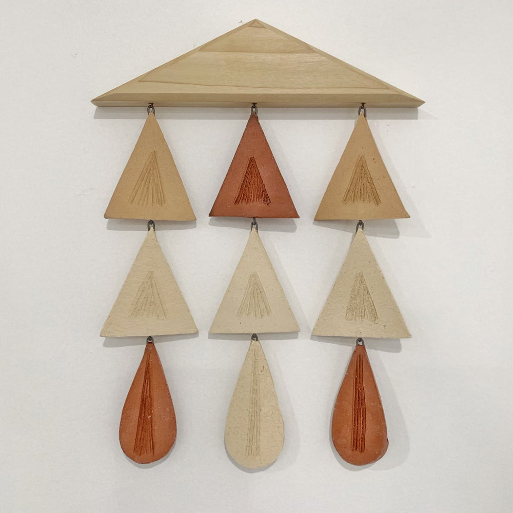 Image of Small triangle wall hanging