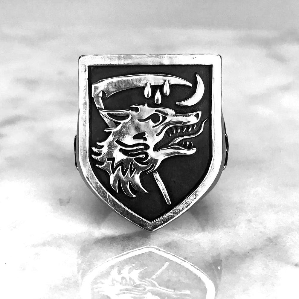 Image of Nachzehrer Patrol Signet Ring XL
