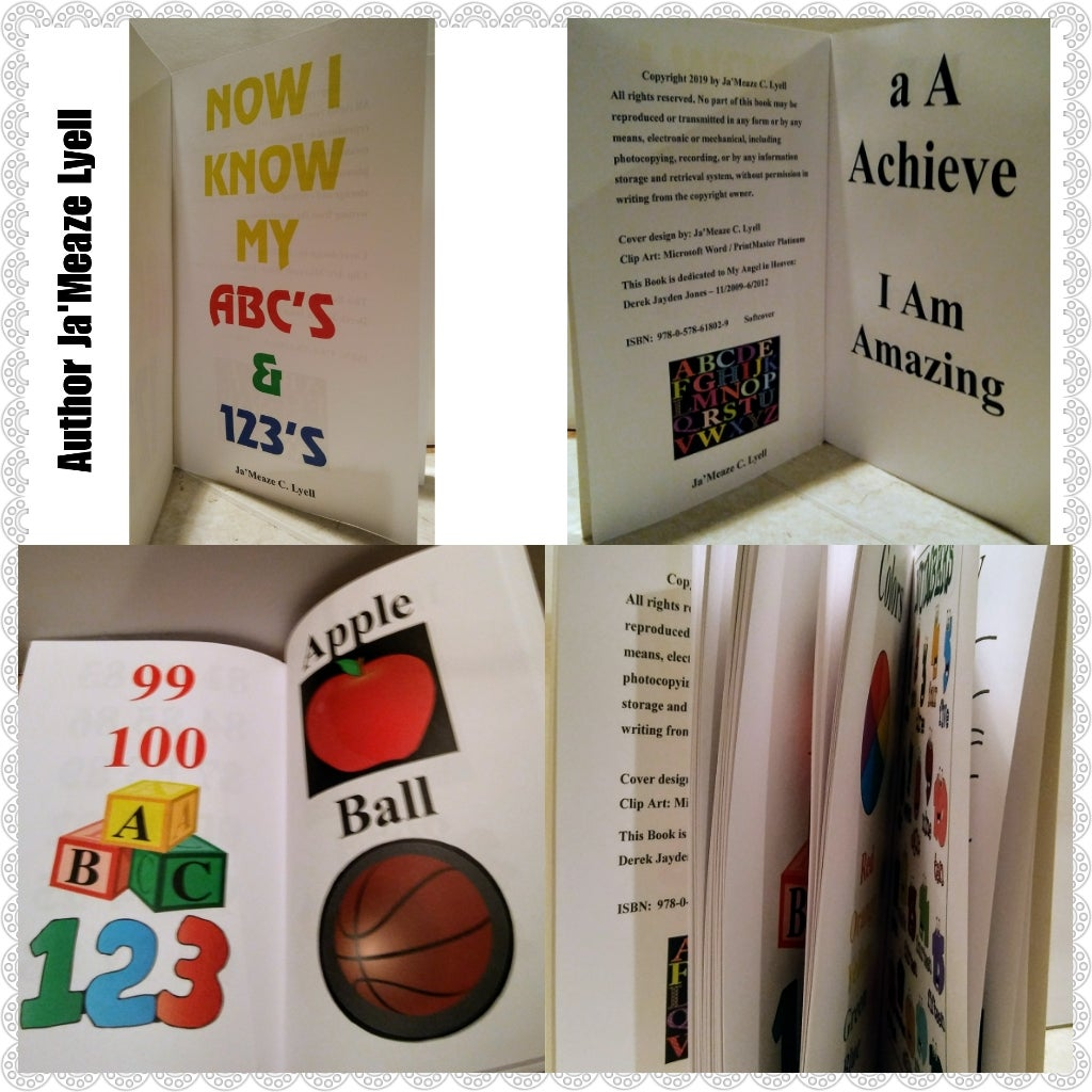 Image of  NOW I KNOW MY ABC'S & 123'S