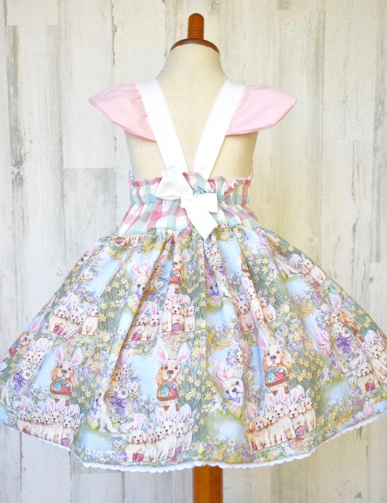 Image of Easter Puppy Dress