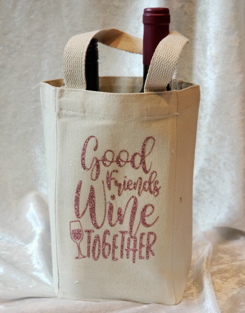 Image of Good Friends Wine 2gether Double Wine Tote