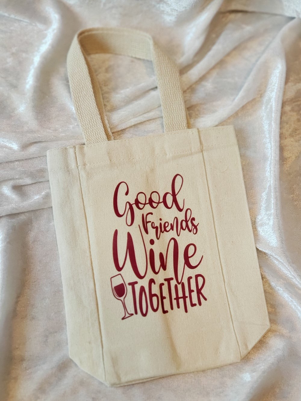 Good Friends Wine 2gether Double Wine Tote