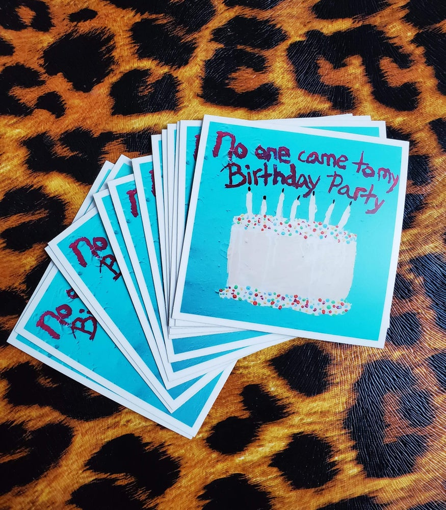 Image of Birthday Cake Sticker