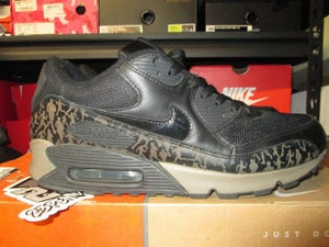 "Image of Air Max 90 Powerwall ""Black/Olive"" *PRE-OWNED*"