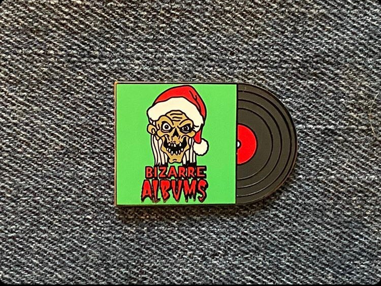 "Image of Cryptmas 1.5"" Enamel Pin (free sticker with purchase)"
