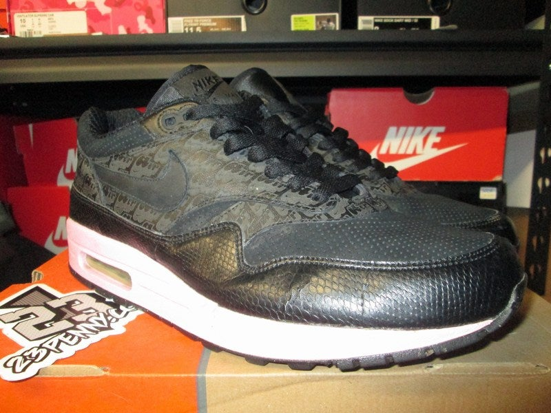 "Image of Air Max 1 Powerwall TZ ""Morning Glory/Blk"" *PRE-OWNED*"