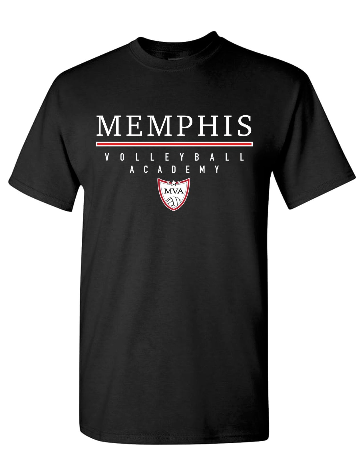 Image of Memphis Volleyball Academy Tshirt - (Multiple Color Options)