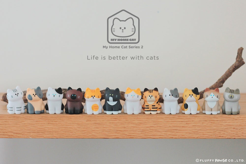 Image of My Home Cat Blind Box Series 2 (Whole Set)